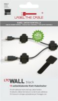 Label the cable Wall - 10er Set selbstklebend