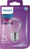 Philips LEDClassic 25W P45 E27 WW CL ND 1BC/4